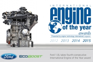 ford ecoboost 1.0L dong co cua nam 2012 2013 2014 2015